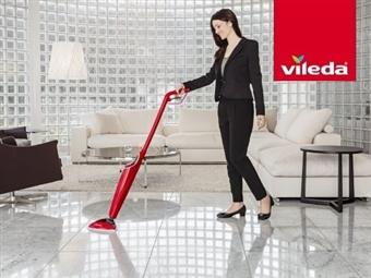 100º C – Hot Spray VILEDA: Mopa com spray de água a 100ºC que limpa e higieniza os pavimentos de uma forma fácil e cómoda por 56€. PORTES INCLUIDOS.