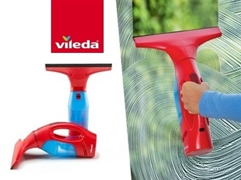 WindoMatic - Aspirador para Vidros da VILEDA. Vidros limpos, sem marcas, sem pingos e sem esforço por 40€. VER VIDEO. PORTES INCLUIDOS.