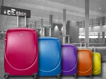 Conjunto de 3 Malas ABS com 7 Cores à escolha por 139€. As malas pequena e média guardam-se dentro da mala grande. PORTES INCLUIDOS.