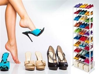 Sapateira para 30 Pares de Sapatos. A solução ideal para sua casa por 13€. PORTES INCLUIDOS.