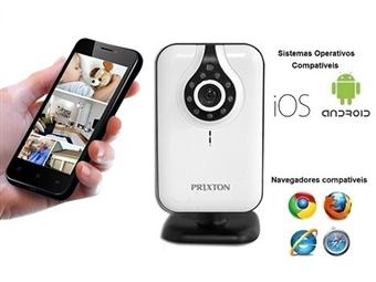 Câmara de Monitorização e Vigilância com Visão Noturna: Vigie em qualquer local através do seu Smartphone, Tablet ou PC por 28€. PORTES INCLUÍDOS.