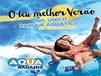 AQUABADAJOZ: Único Parque Aquático na Extremadura e Alentejo. VEJA O VIDEO. Bilhete de Entrada desde 7€. Um Verão de Diversão Refrescante em Badajoz.