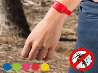 5 Pulseiras Anti-Mosquitos por 13€. Produto 100% Natural. Desfrute do Verão sem sofrer com as temidas picadas. PORTES INCLUÍDOS.