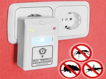 2 Repelentes Elétricos Pest eProtect por 19€. Mantém a tua casa livre de roedores e insectos. Inofensivo e inodoro. PORTES INCLUÍDOS.