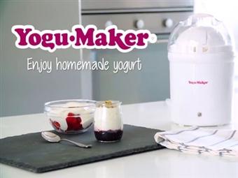 Iogurteira Yogu·Maker. VEJA O VIDEO. Uma forma simples de fazer o seu próprio iogurte caseiro por 27€. PORTES INCLUÍDOS.