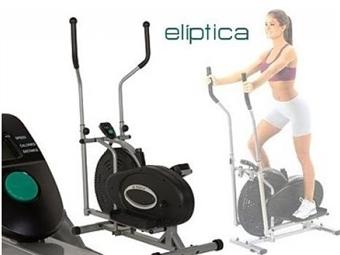 Bicicleta Elíptica com 8 Níveis de Intensidade e Painel de Controlo por 119€. PORTES INCLUÍDOS.