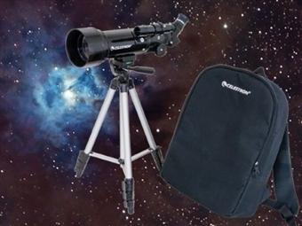 Telescópio Portátil Celestron TravelScope com Tripé, Mochila e SkyPortal Mobile App desde 69€. VEJA O VIDEO. PORTES INCLUIDOS.