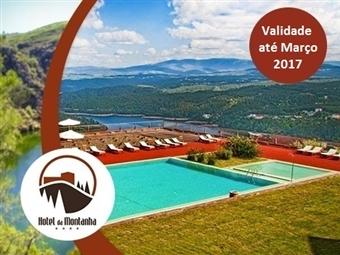 Hotel da Montanha 4*: Estadia de 1 a 3 Noites com Jantar, Sauna, Banho Turco, Jacuzzi, Espaço Fitness e Piscina em Pedrogão Pequeno desde 29,50€.