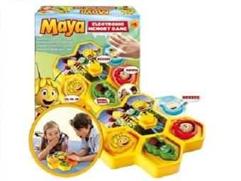 Maya: Jogo Electrónico de Memória por 16,99€. O Jogador que Memorizar e Repetir a Sequência de Som e Cor Ganha! ENTREGA: 48H. PORTES INCLUÍDOS.