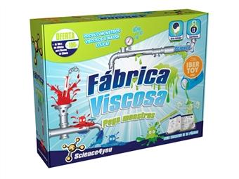 Fábrica Viscosa - Monstros Pegajosos, Medusas Invisíveis e Minhocas Coloridas são algumas das 17 Experiências por 20€. ENTREGA: 48H. PORTES INCLUÍDOS.