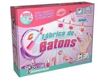 Fábrica de Batons: Descobre a Ciência por Detrás dos Batons e e do Gloss e Cria a tua Própria Coleção por 24€. ENTREGA: 48H. PORTES INCLUÍDOS.