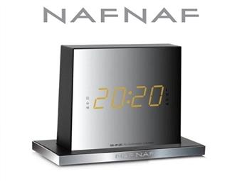 Rádio-Despertador NAFNAF com Bluetooth e Memória para Pré-sintonizar até 20 Estações por 34.90€. ENVIO IMEDIATO e PORTES INCLUÍDOS.