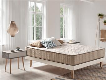 Colchão Viscoelástico Luxury Eco Tencel com 27cm de altura, Tecido de Fibras Ecológicas Naturais e 30 Medidas à escolha desde 139€. PORTES INCLUÍDOS.