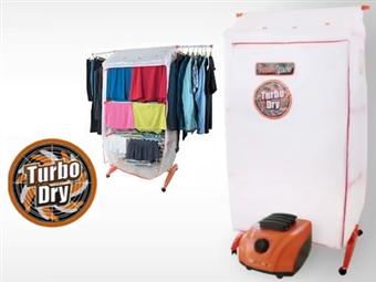 TURBO DRY 360º: Secador de Roupa Vertical Portátil e Estendal por 74€. Seca rapidamente até 20 Kg de roupa de uma só vez! PORTES INCLUÍDOS.