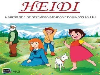 Teatro Infantil HEIDI no Teatro Villaret em Lisboa por 7€.