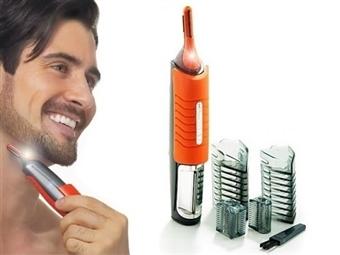 Aparador de Pêlos MICRO SHARP TRIM DUO por 16€. Apara os pêlos de forma confortável e higiénica. VEJA O VIDEO! PORTES INCLUIDOS!