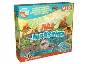 Ilha Jurássica: Cria um Divertido Ecossitema na tua Ilha com Erupções Vulcânicas e Extraordinários Fósseis por 24€. ENTREGA: 48H. PORTES INCLUÍDOS.