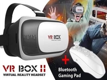 Óculos 3D de Realidade Virtual 360º com Comando Bluetooth por 19€. Vídeos e Jogos em 3D no seu Smartphone. ENVIO: 48H. PORTES INCLUIDOS.