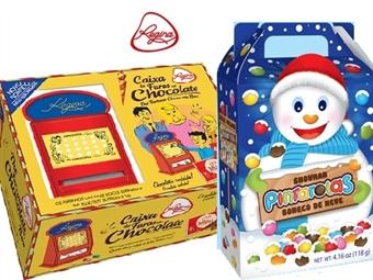 Chocolates da REGINA: Caixa de Furos de Chocolates e Gomas e ou Boneco de Neve Pintarolas desde 7.99€. ENTREGA: 48H. PORTES INCLUÍDOS.