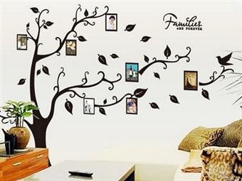 1 ou 2 Árvores da Família em Vinil Autocolante Decorativo para Superfícies Lisas desde 6.95€. Para toda a família! ENVIO IMEDIATO e PORTES INCLUÍDOS.