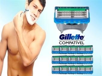 12 Lâminas de Barbear Compatíveis com as Máquinas FUSION, FUSION PROGLIDE, MACH3, MACH3 POWER ou TURBO da GILLETTE desde 19.89€. PORTES INCLUÍDOS.