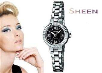 Relógio de Pulso CASIO SHEEN com Cristais SWAROVSKI por 64€. Muito mais do que um acessório de moda. ENVIO IMEDIATO e PORTES INCLUÍDOS.