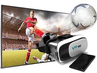 Óculos 3D de Realidade Virtual para Smartphones por 15.99€. Vídeos e jogos em 3D no seu Smartphone. PORTES INCLUÍDOS.