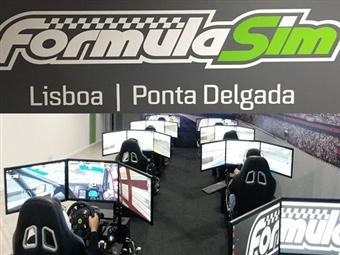 Autódromo Virtual de Sacavém ou Ponta Delgada: 1 ou 2 Horas de Experiência Virtual em Competição Automóvel desde 7€. Sente a adrenalina na FormulaSim!