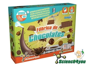 Fábrica de Chocolates por 19.50€. Aprende e produz os teus próprios chocolates, como bombons, brownies ou bolachas. ENVIO: 48H. PORTES INCLUÍDOS.