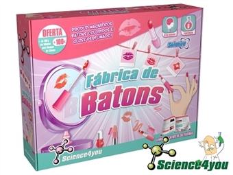 Fábrica de Batons por 23€. Descobre a ciência por detrás dos batons e e do gloss e cria a tua própria coleção. ENVIO: 48H. PORTES INCLUÍDOS.