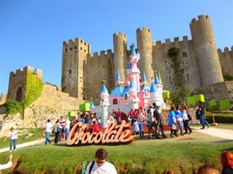 FESTIVAL DO CHOCOLATE & Hotel Água D'Alma: 1 Dia no Festival e 1 Noite junto à Lagoa de Óbidos por 29€. Escapadinha de Sonho!