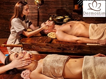 Massagem Romântica Localizada para 2 Pessoas na Clínica Dermoslim em Lisboa por 24€. Reacenda a chama da paixão e relaxe com a sua cara metade.