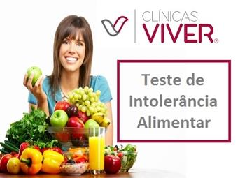 TESTE DE INTOLERÂNCIA ALIMENTAR por 24.90€ nas Clínicas Viver no Marquês de Pombal. Aprenda a Alimentar-se de Acordo com o Seu Organismo!