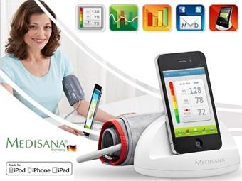 iHealth: Medidor de Tensão Arterial para iPhone, iPad e iPod com Carregador de Bateria e Docking Station por 29€. PORTES INCLUÍDOS.