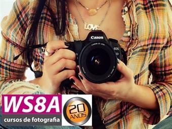 Workshop de Iniciação à Fotografia Digital na WS8A para uma pessoa por 23€ em Lisboa. Torne-se um Fotografo de Sonho!