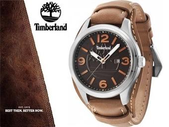 Relógio de Pulso TIMBERLAND Moringa Brown por 68€. O presente ideal para o Homem que gosta da Natureza. PORTES INCLUÍDOS.