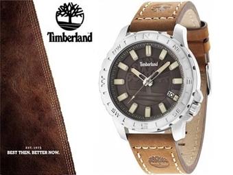Relógio de Pulso TIMBERLAND Wayland Brown por 64€. O presente ideal para o Homem que gosta da Natureza. PORTES INCLUÍDOS.