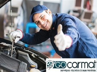GOCARMAT OFICINAS: Pré Inspecção e Acompanhamento ao Centro de Inspecções por 17,90€.