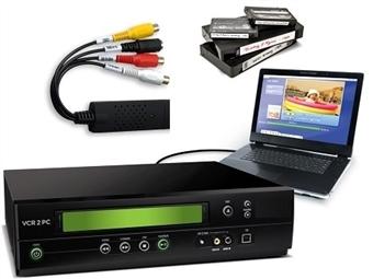 1 ou 2 Pens Conversoras USB de Áudio e Vídeo desde 15.50€. Recupere e volte a desfrutar tudo o que tiver em cassetes de vídeo. PORTES INCLUÍDOS.