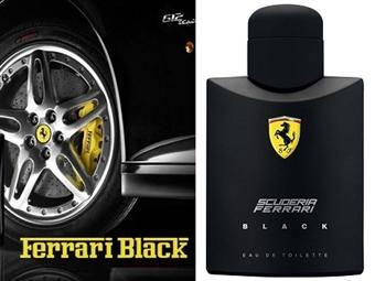 Eau de Toilette FERRARI SCUDERIA BLACK para Homem de 125ml por 29.95€. Uma fragrância cheia de prestígio e classe. PORTES INCLUÍDOS.