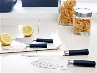 4 Facas Profissionais de Design Japonês em Aço Inox Com ou Sem Revestimento Cerâmico desde 10.90€. Resistentes, Leves e Eficazes. PORTES INCLUÍDOS.