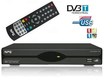 Recetor TDT com Memória para 1000 Canais de TV e Rádio Digital, Gravador Digital, Memória Interna de 16GB e Porta USB por 22.90€. PORTES INCLUÍDOS.