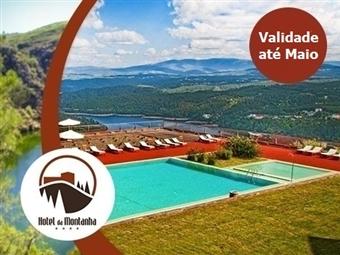 Hotel da Montanha 4*: Estadia de 1 ou 2 Noites com Jantar, Sauna, Banho Turco, Jacuzzi e Piscina em Pedrogão Pequeno desde 31€.