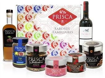 Mala Portugalidade Especial Romântica da Casa da Prisca composta por 7 Deliciosos Produtos por 36.90€. PORTES INCLUÍDOS.