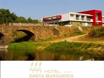 Hotel Santa Margarida 4*: 1 ou 2 Noites com Jantar & SPA junto à Ribeira de Oleiros desde 32€. Perfeito para uma escapada em família.