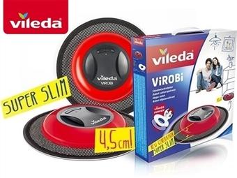 Mopa Robô ViRoBi Super Slim da VILEDA que limpa a casa sozinho sem fios por 35€. VER VIDEO. PORTES INCLUIDOS.