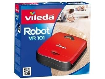 Robot Aspirador VR101 da VILEDA por 120€. Ajuda a manter a Casa Limpa todos os dias sem esforço. VER VIDEO. PORTES INCLUIDOS.