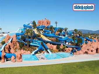 SLIDE & SPLASH: Entrada para ADULTO por 22.95€. Divertimento Garantido no Algarve. Melhor Preço.