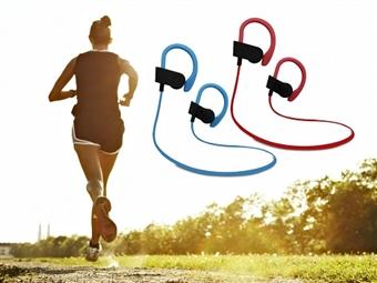 Auriculares Desportivos Bluetooth com Microfone por 16€. Agora pode ouvir música ou fazer chamadas telefónicas sem interrupções. PORTES INCLUÍDOS.