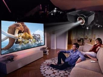 Projetor Portátil LED com Comando, USB, AV, VGA e SD por 62€. Cinema em Casa! PORTES INCLUIDOS.